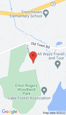 Map of Condo Home on 715 Frenchtown Road,Bridgeport, CT