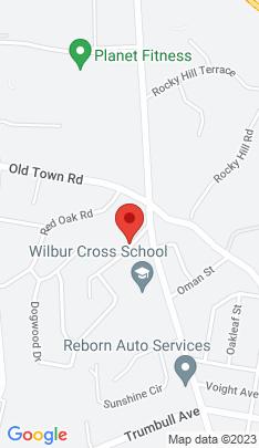 Map of Single Family Home on 58 Nautilus Road,Bridgeport, CT