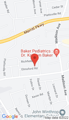 Map of Single Family Home on 42 Elmsford Road,Bridgeport, CT