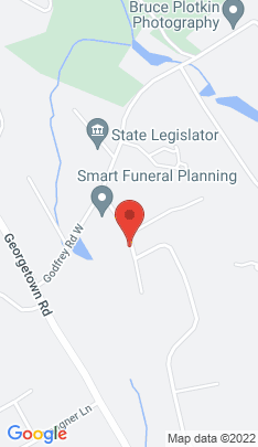 Map of Single Family Home on 23 Mountain View Drive,Weston, CT