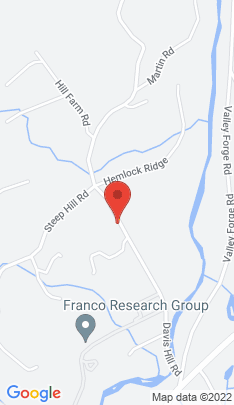 Map of Single Family Home on 52 Davis Hill Road,Weston, CT