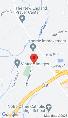Map of Single Family Home on 79 Stevenson Road,Fairfield, CT