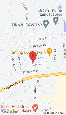 Map of Single Family Home on 19 Cedar Street,Trumbull, CT