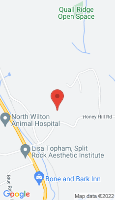 Map of Residential Property on 40 Honey Hill Road,Wilton, CT
