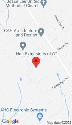Map of Single Family Home on 37 Ridgeway Road,Easton, CT