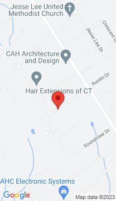 Map of Single Family Home on 35 Ridgeway Road,Easton, CT