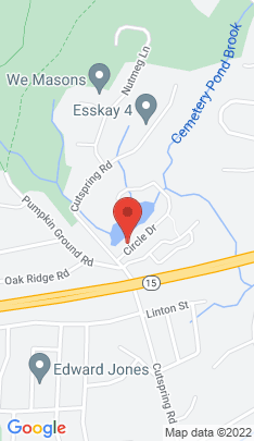 Map of Single Family Home on 23 Circle Drive,Stratford, CT