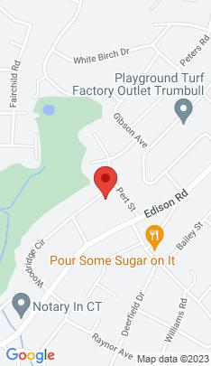 Map of Single Family Home on 74 Woodridge Circle,Trumbull, CT