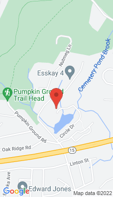 Map of Single Family Home on 360 Circle Drive,Stratford, CT