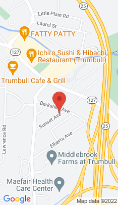 Map of Single Family Home on 32 Sunset Avenue,Trumbull, CT