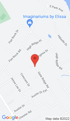Map of Single Family Home on 36 Gate Ridge Road,Easton, CT