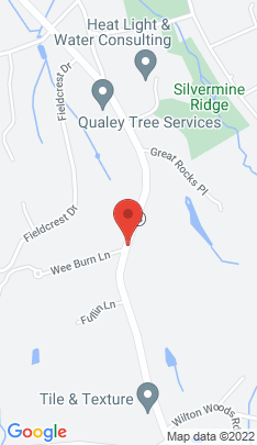 Map of Single Family Home on 1072 Ridgefield Road,Wilton, CT