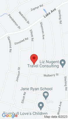 Map of Single Family Home on 59 Elliott Road,Trumbull, CT