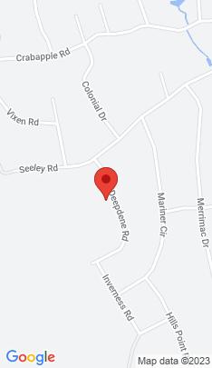 Map of Single Family Home on 24 Deepdene Road,Trumbull, CT