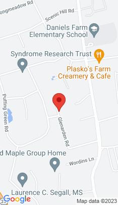 Map of Single Family Home on 32 Glenarden Road,Trumbull, CT