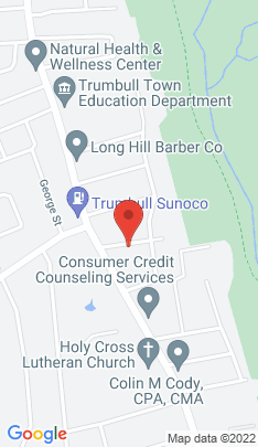Map of Single Family Home on 28 Birdsall Avenue,Trumbull, CT