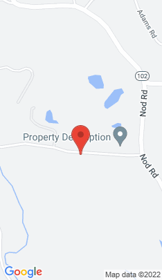 Map of Single Family Home on 74 Whipstick Road,Ridgefield, CT