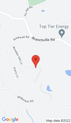 Map of Single Family Home on 42 Boulder Hill Road,Ridgefield, CT