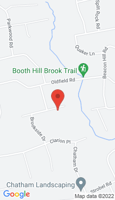 Map of Single Family Home on 9 Brookhedge Road,Trumbull, CT