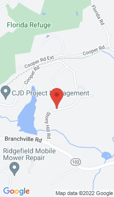 Map of Single Family Home on 38 Stony Hill Road,Ridgefield, CT