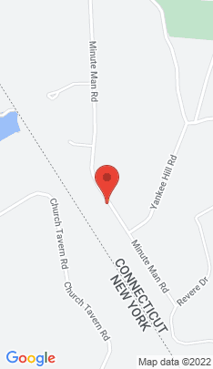 Map of Single Family Home on 162 Minuteman Road,Ridgefield, CT