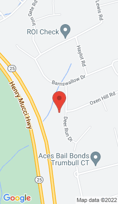 Map of Single Family Home on 71 Deer Run Drive,Trumbull, CT