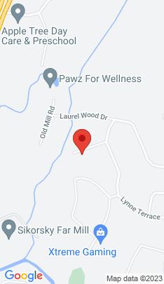 Map of Single Family Home on 16 Shady Brook Lane,Shelton, CT