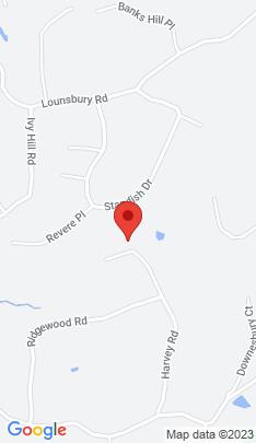 Map of Single Family Home on 84 Harvey Road,Ridgefield, CT