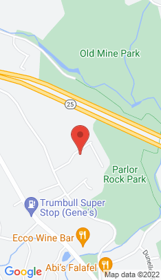 Map of Single Family Home on 24 Parlor Rock Road,Trumbull, CT