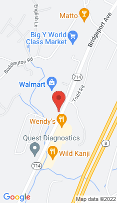 Map of Single Family Home on 20 Woodland Park,Shelton, CT