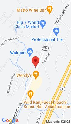 Map of Single Family Home on 61 Woodland Park,Shelton, CT