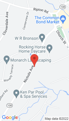 Map of Single Family Home on 76 Nichols Avenue,Shelton, CT