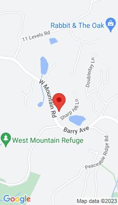 Map of Single Family Home on 1 Sharp Hill Lane,Ridgefield, CT