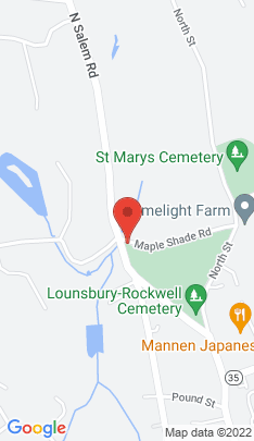 Map of Multi Family Home on 84 North Salem Road,Ridgefield, CT