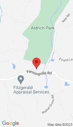 Map of Single Family Home on 251 Farmingville Road,Ridgefield, CT
