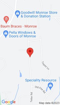 Map of Single Family Home on 222 Teller Road,Trumbull, CT