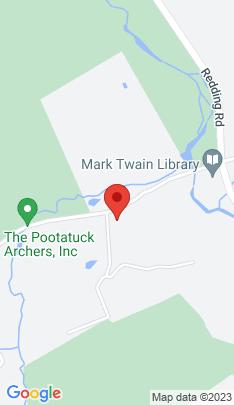 Map of Single Family Home on 1 Mark Twain Lane,Redding, CT