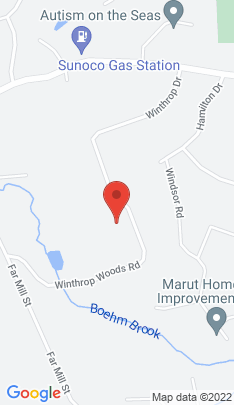 Map of Single Family Home on 35 Winthrop Woods Road,Shelton, CT