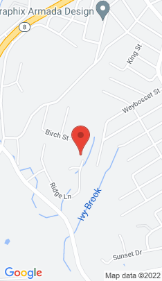 Map of Single Family Home on 84 Ridge Lane,Shelton, CT