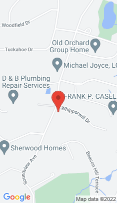 Map of Single Family Home on 91 Soundview Avenue,Shelton, CT