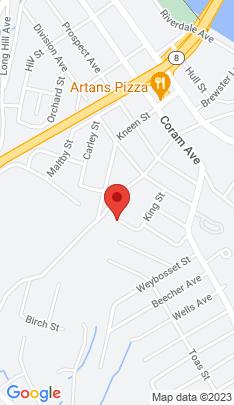 Map of Single Family Home on 24 Naugatuck Avenue,Shelton, CT