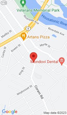 Map of Single Family Home on 13 Huntington Avenue,Shelton, CT
