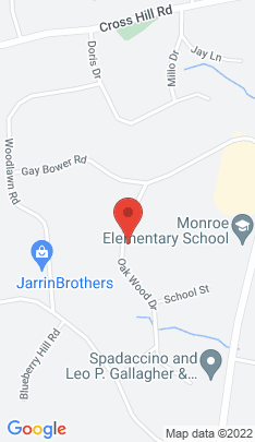 Map of Single Family Home on 29 Oak Wood Drive,Monroe, CT