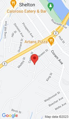 Map of Multi Family Home on 83 Kneen Street,Shelton, CT