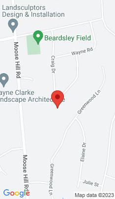 Map of Single Family Home on 54 Hunter Ridge Road,Monroe, CT