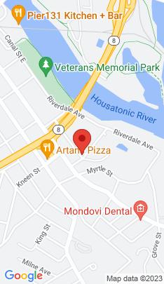 Map of Multi Family Home on 1 Hull Street,Shelton, CT