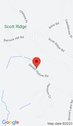 Map of single family home on 90 Sleepy Hollow Road,Ridgefield, CT