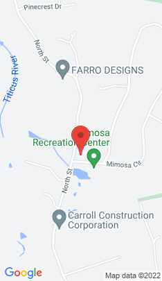 Map of Single Family Home on 1 Mimosa Circle,Ridgefield, CT