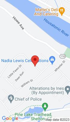 Map of Single Family Home on 36 Cribbins Avenue,Shelton, CT
