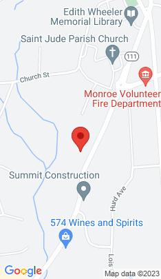 Map of single family home on 641 Monroe Turnpike,Monroe, CT